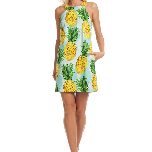 640a153f720bd Trina Turk Dresses | Pineapple Sheath Overall Dress | Poshmark